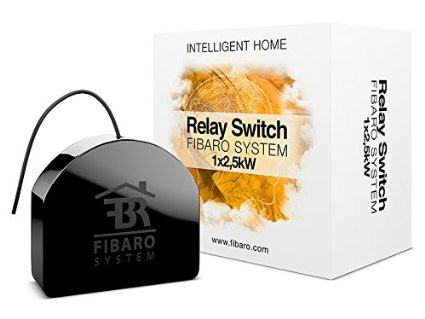 Fibaro 212 Relay Switch Module Zwave Things That Are Smart Wiki
